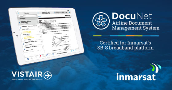 VISTAIR AIRLINE DOCUMENT MANAGEMENT APPLICATION CERTIFIED