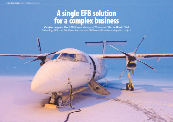 Case Study: A single EFB solution for a complex business